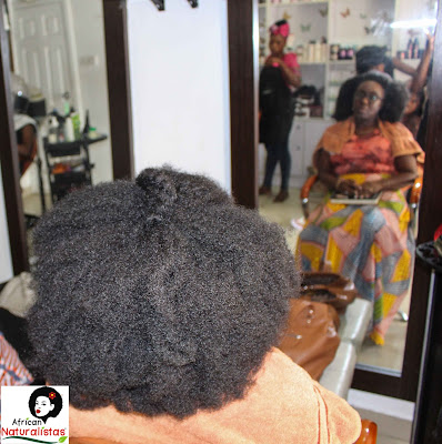 african naturalistas, berry dakara, crochet wig, shrinkage, natural hair, nigeria