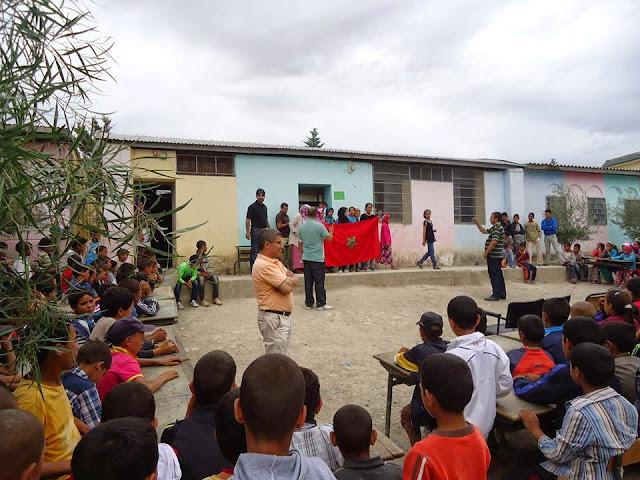 تاونات: مجموعة مدارس أولاد بن الطاهر تنشط الحياة المدرسية باليوم الثقافي الربيعي الأول
