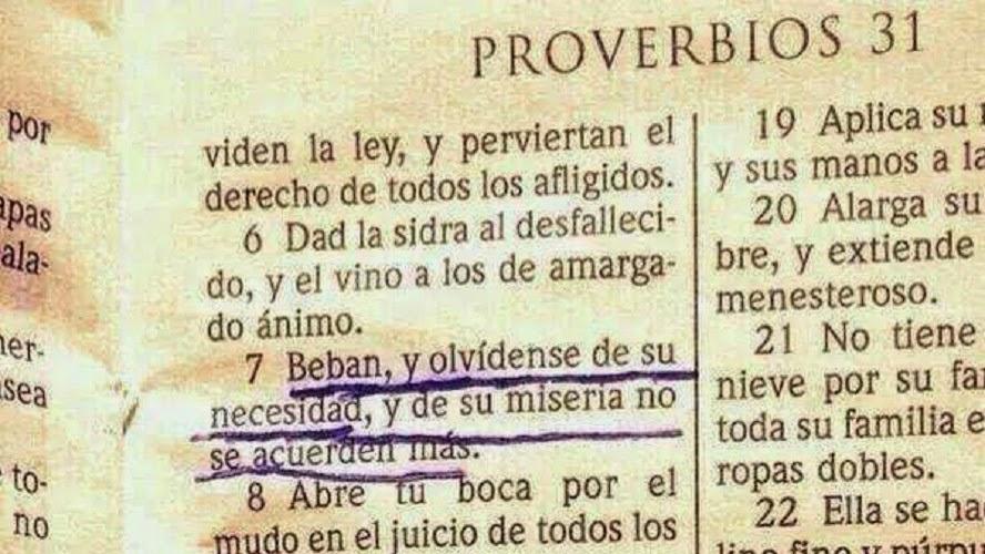 Proverbios si que sapeee