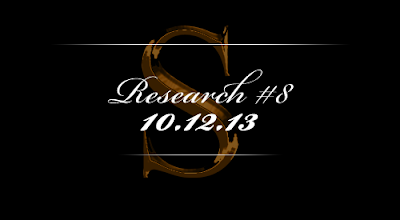 Research #8 - 10.12.13