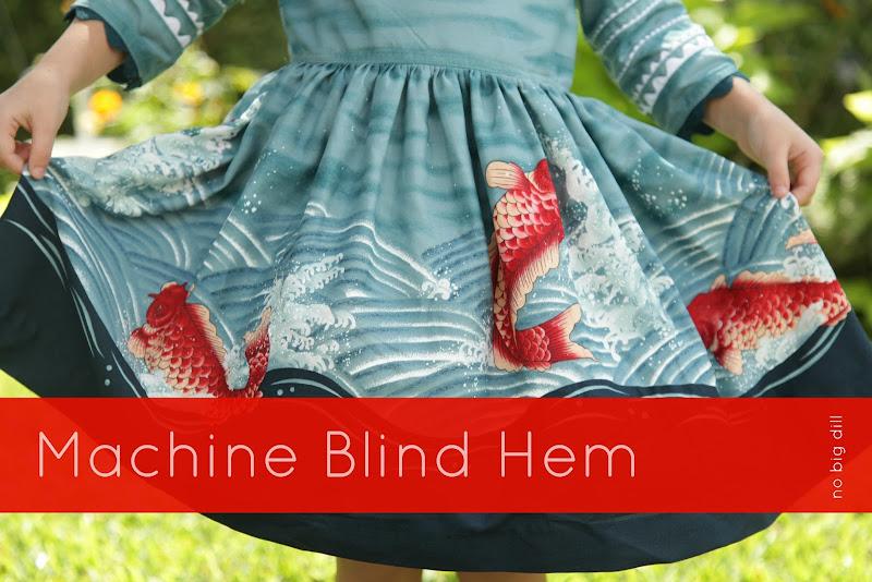 blind hem machine
