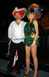 Costumes at the Austin Carnaval in 2013