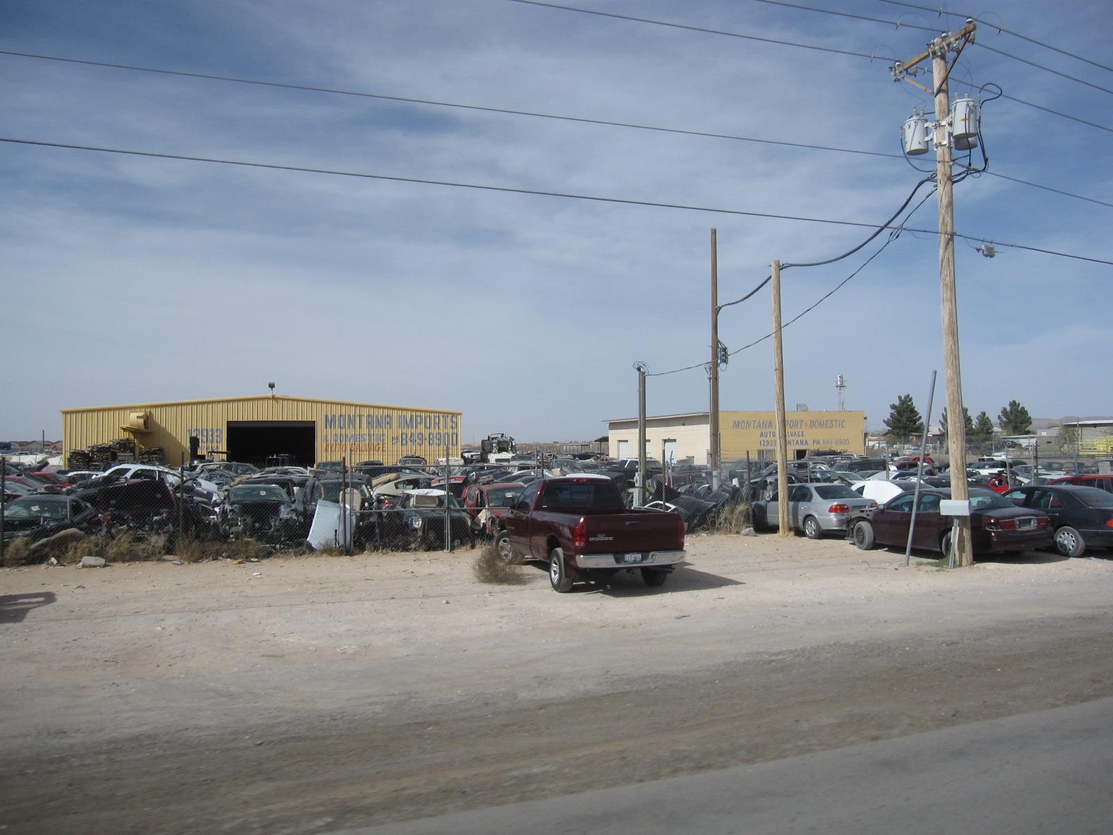 Salvage Yards El Paso >> Spring Training 2011