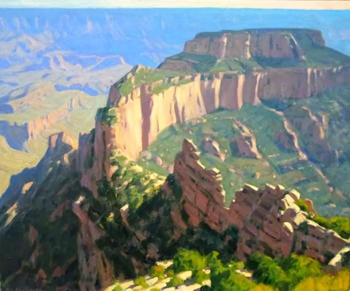 Горные пейзажи. Robert Goldman