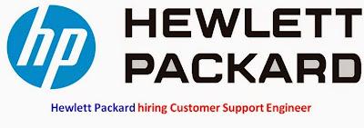 Hewlett Packard hiring Customer Support Engineer