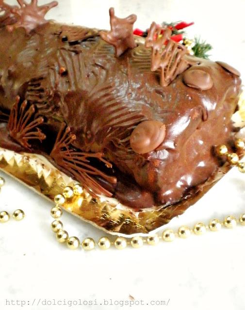 Dolcigolosità-tronchetto cioccolato