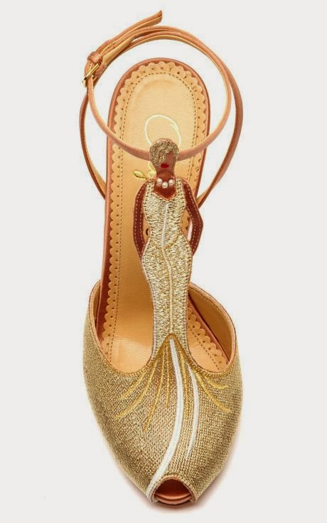Beautiful Yellow Color Satin T-Bar Sandal