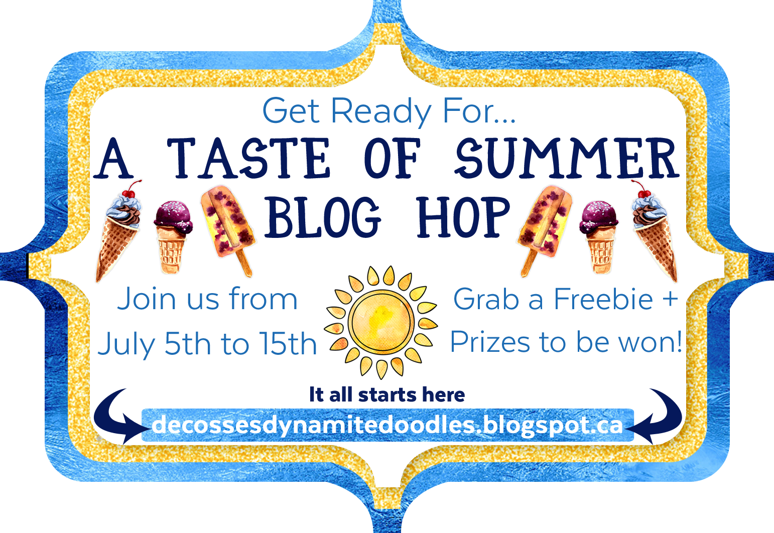 A Taste of Summer Blog Hog