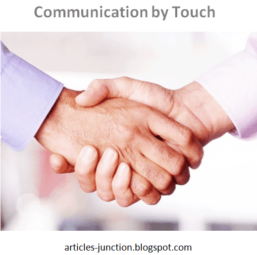 Communication by touch