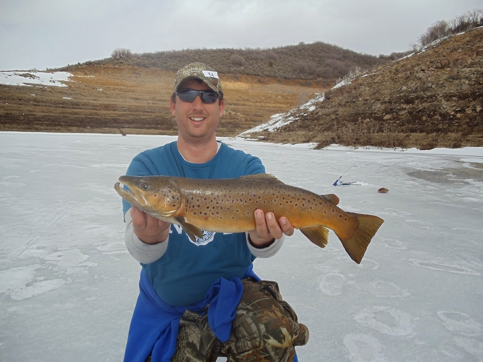 Utah fisherman victory at flaming gorge for Big fish tackle utah