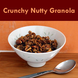 For sweet cravings when eating by the Wahls Diet try naturally sweetened granola and dark chocolate chunks. - http://foyupdate.blogspot.com/2013/01/five-strategies-for-wahls-diet.html