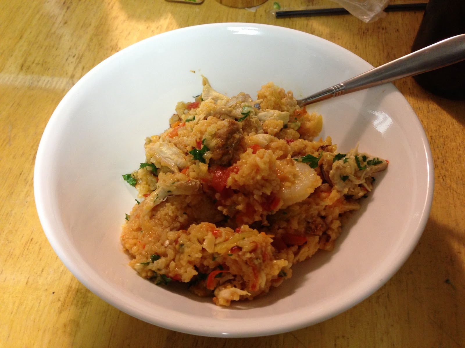 The Disorganized Chef Chicken And Shrimp Jambalaya