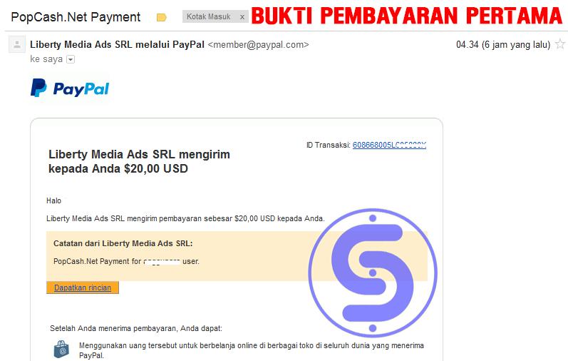 Cara Menghasilkan Uang Dari Internet Melalui Popcash