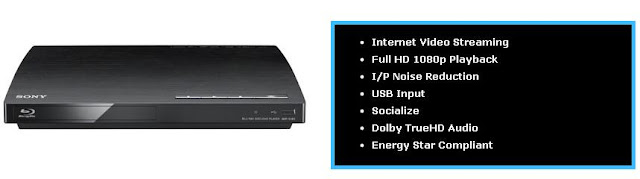 Sony BDP-S185 Blu-Ray Player, player, sony, bluray