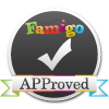 Famigo APProved badge for Educational Apps