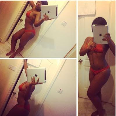 Moet Abebe Shows Off Her Bikini Bod