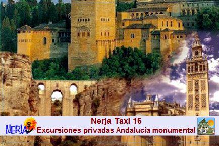 Nerja taxi 16 - A su disposición excursiones privadas en taxi, para que usted pueda conocer la Andalucía monumental a su aire