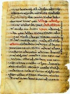 Codex Armenicus palimpsest