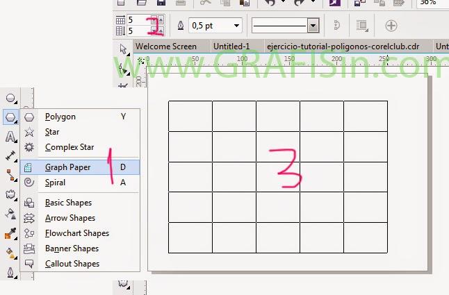 Membuat Graph Paper Untuk Puzzle CorelDraw