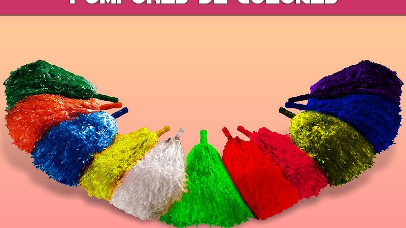 Como hacer pompones de colores manualidades paso a paso - Manualidades con rafia ...