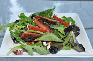 Recipe: Smoked duck (or salmon) salad