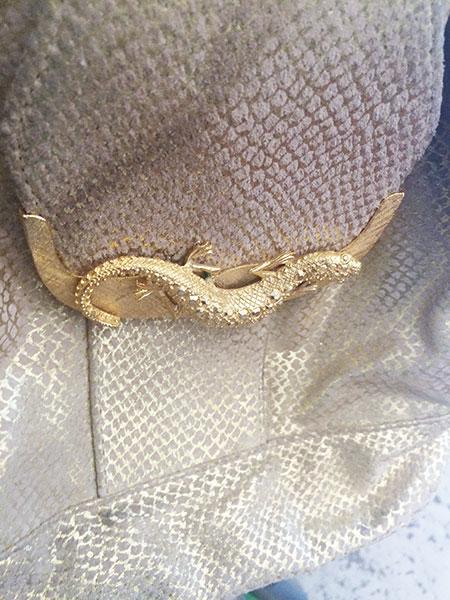 vintage snake skin purse