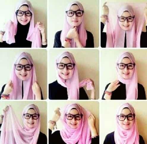 ... beberapa Tutorial Hijab Segi Empat Simple Dan Modis 2016 berikut ini