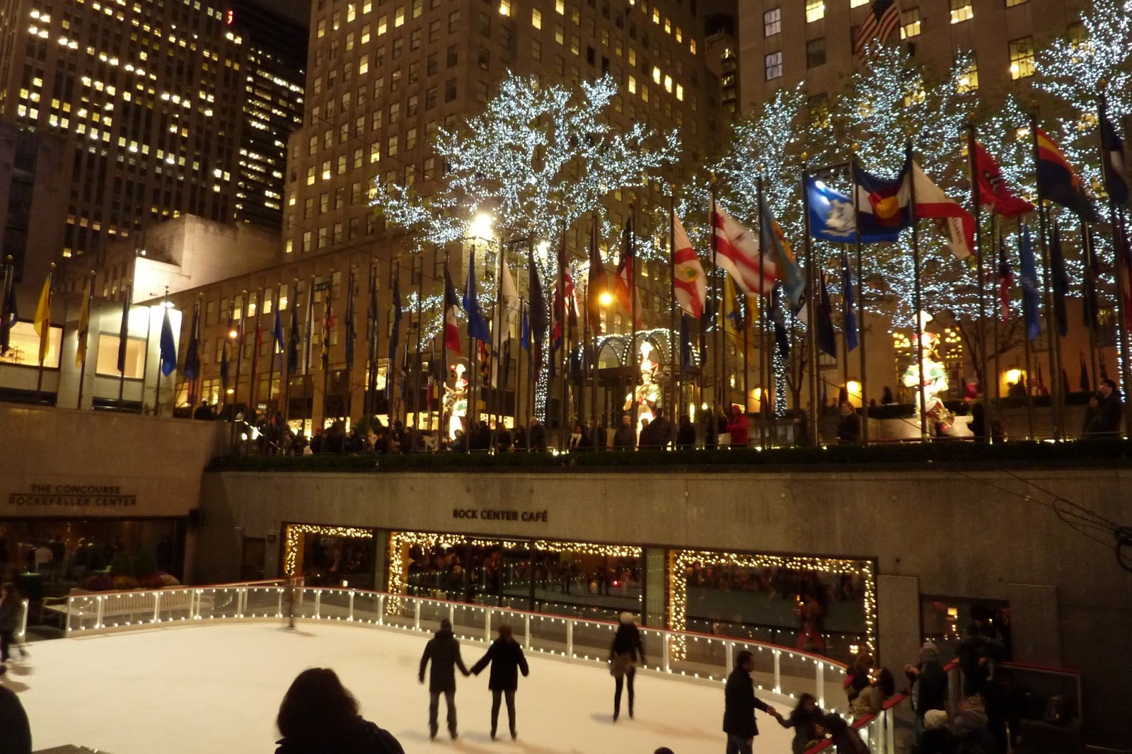 Les patinoires de New York