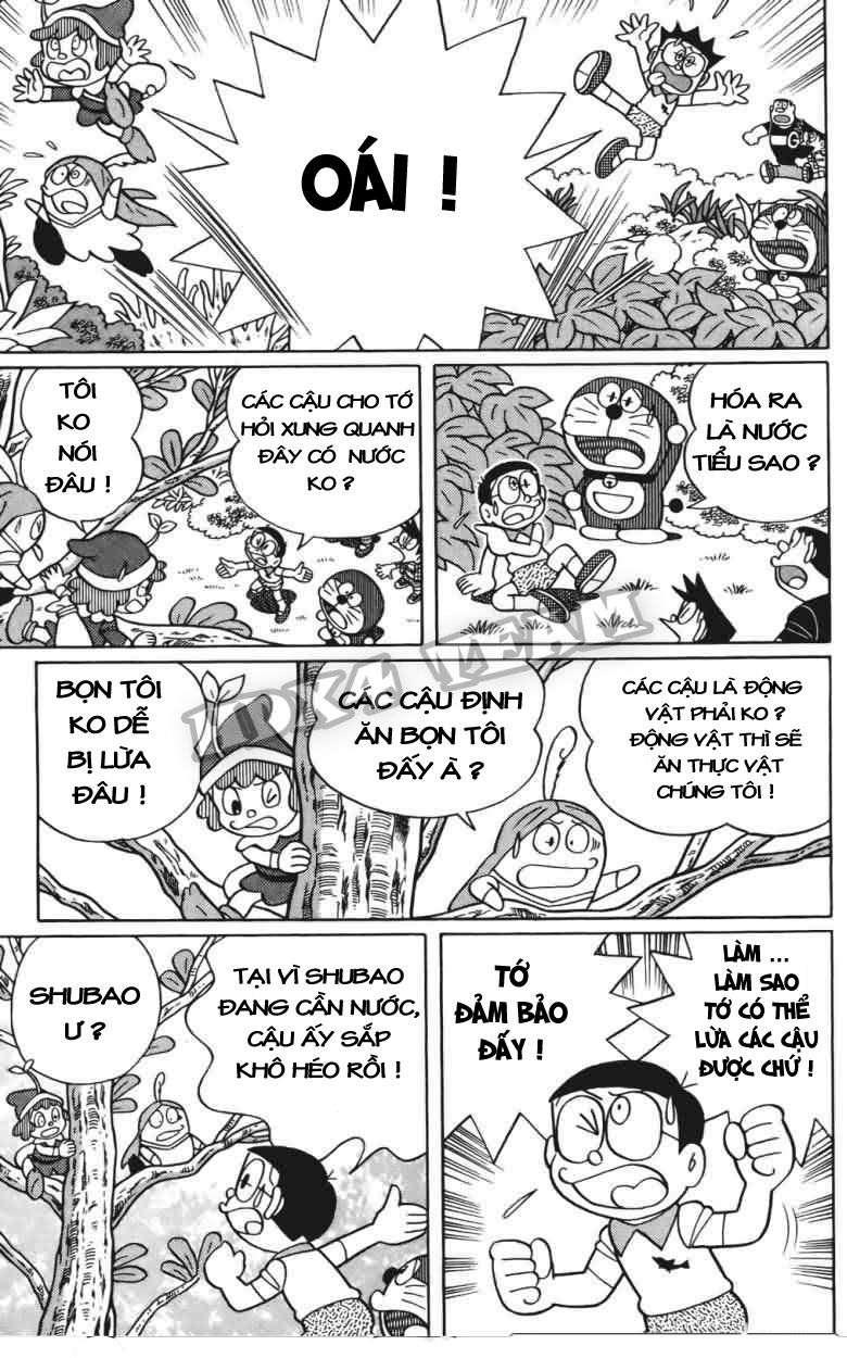 Truyện tranh Doraemon Dài Tập 25 - Nobita và truyền thuyết thần rừng trang 141
