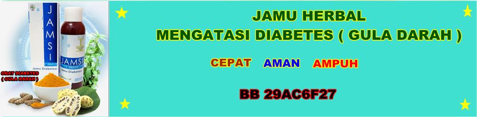 Obat Diabetes (gula) Aman Ampuh
