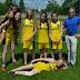 Świetny wynik dziewcząt z klas sportowych w czwórboju lekkoatletycznym.