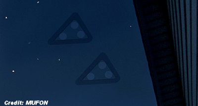 Pair of Low Flying, Silent Triangle UFOs Reported Over Mayfield Heights, Ohio 8-15-15