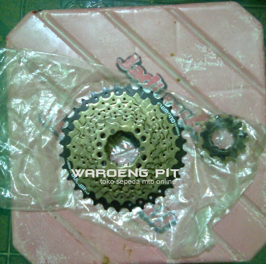 jual gear gir sprocket sepeda shimano acera 9 speed gunung mtb mountain bike balap 2 waroengpit