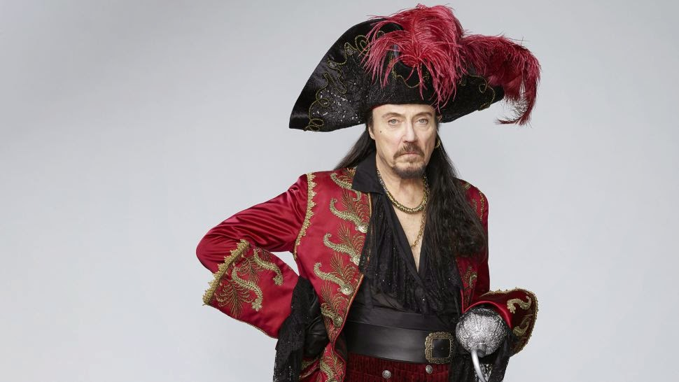 Christoper Walken as Captain Hook on NBC