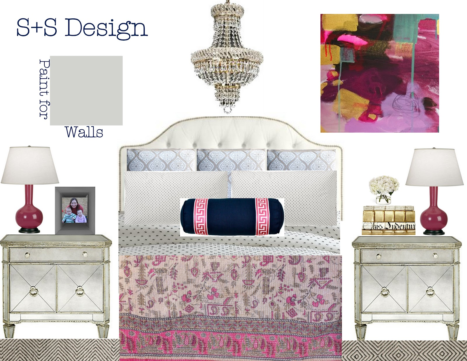 When She Mentioned Her Favorite Color Was Pink I Knew We Were Meant To Be As They Say Done And Here Are The Plans For Boho Glam Sanctuary