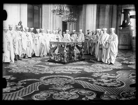 Orden de Santiago: Recepción en el Palacio Real (1907)
