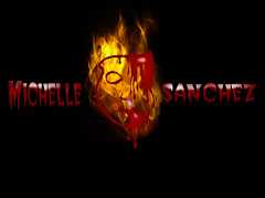 Michelle Sanchez  -  Bloody Mask Logo.
