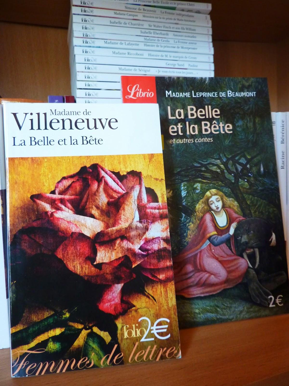 La Belle et la Bête - Mesdames de Villeneuve et Leprince de Beaumont