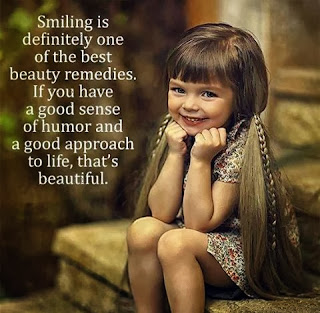 QUOTES BOUQUET: Smiling Is Definitely One Of The Best Beauty Remedies. If You Have A Good Sense Of Humor And A Good Approach To Life, That's Beauty.