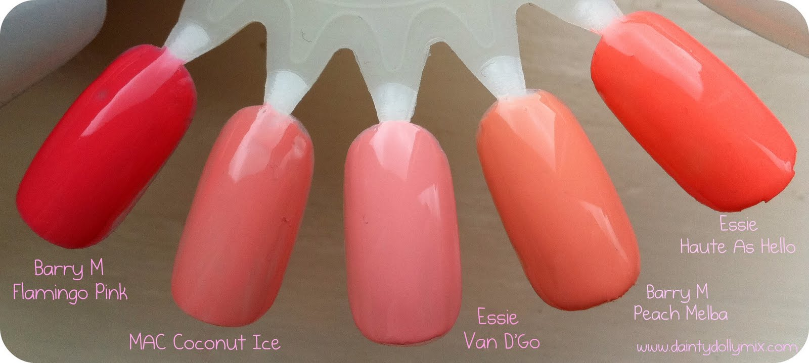 Dainty Dollymix UK Beauty Blog: Top 5 Summer Nail Polishes