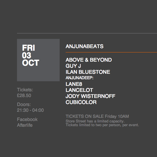 Anjunabeats & Anjunadeep at Warehouse Project 2014