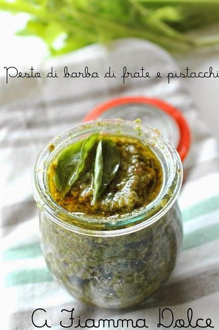 pesto di barba di frate e pistacchi (veg)
