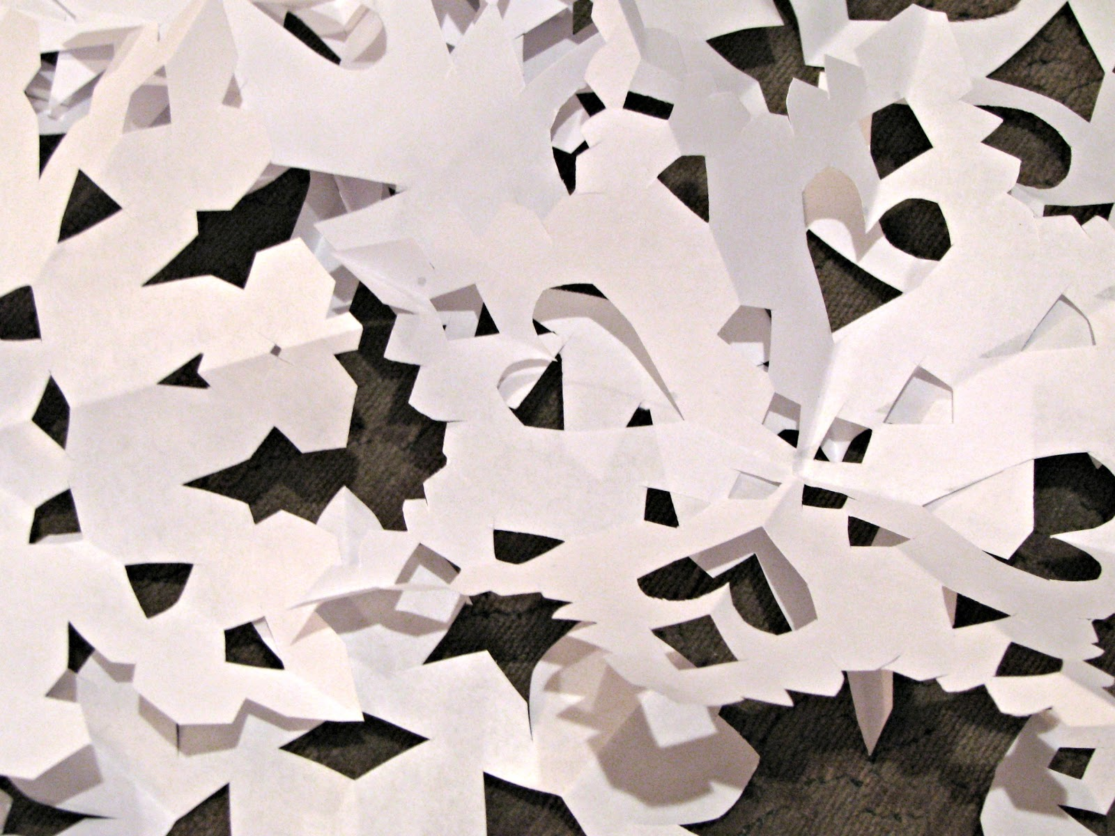 musings from kim k paper snowflakes