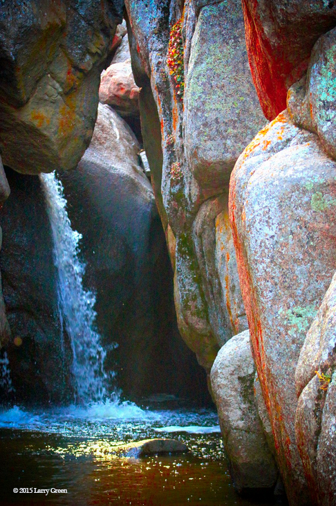 Hidden Falls in Curt Gowdy State Park, Wyoming