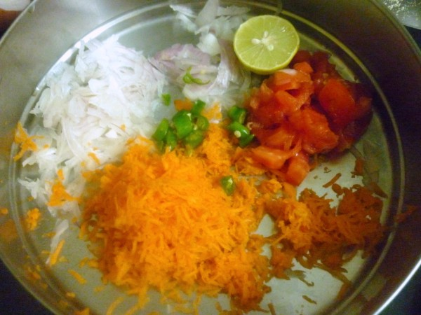 carrot lemon onion and mint recipe dishmaps carrot pea and mint salad ...