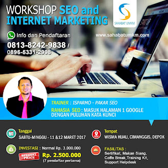 Info Workshop Maret 2017