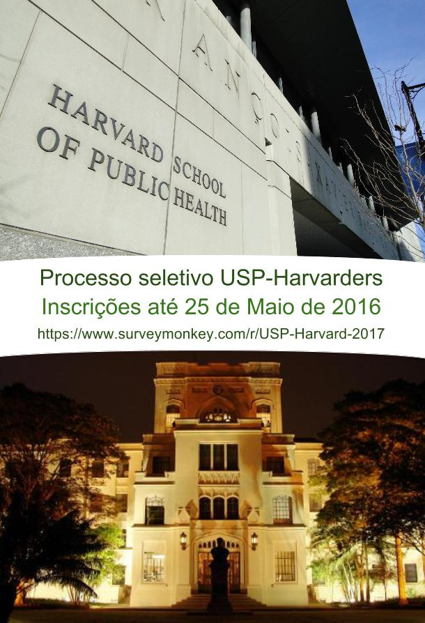 USP-Harvarders Processo Seletivo