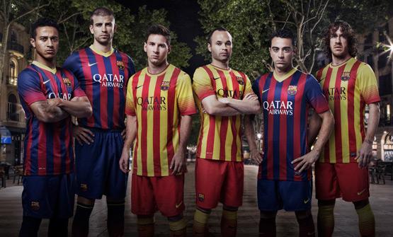 Camiseta FC Barcelona 2013-2014. Nueva equipación del Barça