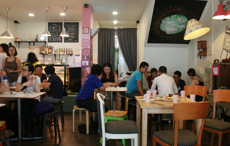 Singapore: Hatter Street Bakehouse & Cafe