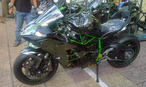 Kawasaki Ninja H2 Việt Nam